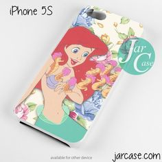 Ariel cute floral NT Phone case for iPhone 4/4s/5/5c/5s/6/6 plus