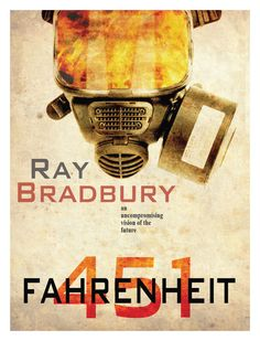 Today I learned: Ray Bradbury originally titled Fahrenheit 451 as 'The Fireman', but he and editors found the name boring. So they called a local fire station and asked what temperature book paper. Science Fiction Magazines, Fiction Books, Sci Fi Books, Film Books, Short Stories Online, Book Burning, High School Reading, Fahrenheit 451, Book Posters