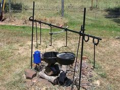 Campfire Cooking on the Range
