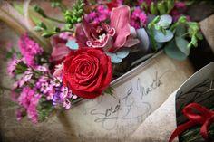 Boda s&m, lata personalizada con rosas rojas El Taller de Joan