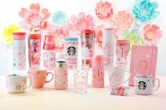 The popular spring beverages are back at Starbucks Japan. From February to March get the Sakura Strawberry Pink Mochi Frappuccino, Sakura Strawberry Pink Milk Latte, and Sakura Strawberry Pink Tea.