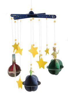 Amazon.com: Hape The Little Prince Planet Mobile: Toys & Games
