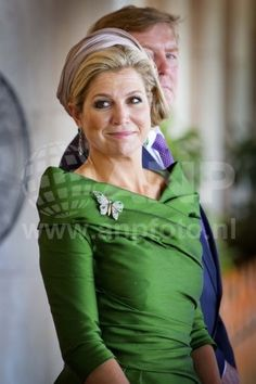 Princess Maxima arrives in Brunei for a state visit 1/21/13