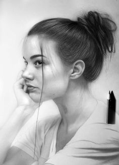 Pencil portrait, art sketches, art drawings, charcoal portraits, black and Pencil Portrait Drawing, Realistic Pencil Drawings, Portrait Sketches, Pencil Art Drawings, Drawing Faces, Art Drawings Sketches, Portrait Art, Baby Portraits, Realism Art