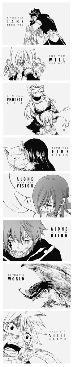 Fairy Tail Tartaros Arc // Who will save you now?