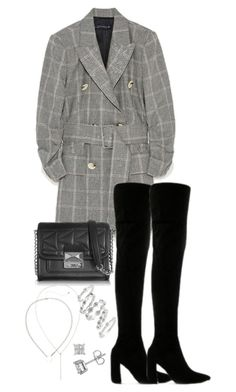 """Untitled #4969"" by theeuropeancloset on Polyvore featuring Public Desire, Karl Lagerfeld and Luv Aj"