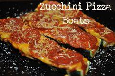 zucchini pizza | Individual Rivalry: Zucchini Pizza Boats