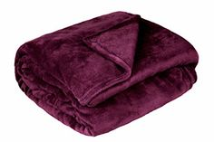 "Solid Velvet Plush Microfiber Blanket Queen 94""x79"" - Dark Purple Elements http://www.amazon.com/dp/B016YRN3AG/ref=cm_sw_r_pi_dp_H9Texb1QMARG5"
