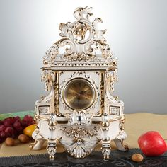 Italy style royal ivory porcelain  table clock,  classical ceramic Table Clock, wedding gift, home decoration,   Engagement Rings,  US $932.00,   http://diamond.fashiongarments.biz/products/italy-style-royal-ivory-porcelain-table-clock-classical-ceramic-table-clock-wedding-gift-home-decoration/,  US $932.00, US $932.00  #Engagementring  http://diamond.fashiongarments.biz/  #weddingband #weddingjewelry #weddingring #diamondengagementring #925SterlingSilver #WhiteGold