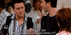 what's your TV pointed at?