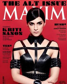 Go Fierce! Kriti Sanon is all set to rule our minds with Maxim's December issue   PINKVILLA