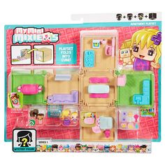 My Mini MixieQ's Series 1 Mystery Figure Apartment Playset Blind Pack - Mattel…