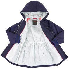 Catimini - Long waterproof jacket - 231521 Kids Bomber Jacket, Printed Bomber Jacket, Gardner And The Gang, Swim Bra, Girls Designer Clothes, Kenzo Kids, Girl Fashion, Fashion Outfits, Top Designer Brands