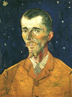 Van Gogh, Portrait of Eugene Boch, Oil on canvas, 60.0 x 45.0 cm. Arles: September, 1888
