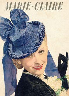 Major vintage tilt hat swoon! #vintage #1930s #hats #fashion