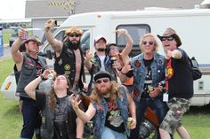 The Grind Radio Show Invades Rocklohoma 2014. Ran in to the Katz from Scattered Hamlet. This dudes know how to party! \m/