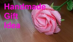 How to Make an Origami Rose. DIY Easy Paper Flowers. Handmade Craft Idea...