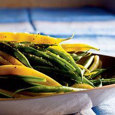 100 Sensational Summer Sides  | Herbed Green and Wax Beans | MyRecipes.com