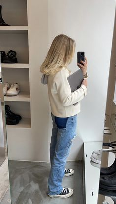 Aesthetic Fashion, Look Fashion, Aesthetic Clothes, Autumn Fashion, Fashion Outfits, Scandinavian Fashion, Vogue, Foto Instagram, School Fashion