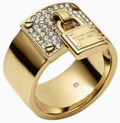 Brilliant Luxury * Michael Kors Ring