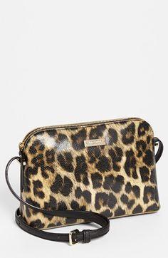 ee0987455205 kate spade new york 'cedar street mandy' crossbody bag, small Leopard Bag,