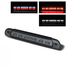 Spyder Auto BKL-TTU00-LED-SM | 2003 Toyota Tundra Smoke LED Brake Lights for SUV/Truck/Crossover