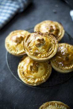 Individual Bacon Cabbage Pies...A different take on a traditional the traditional Irish dish bacon and cabbage! | DonalSkehan.com