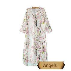 女裝歐美印花淑女氣質雪紡連衣裙176 | Angels