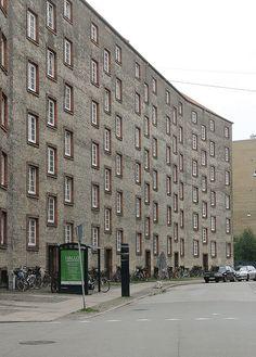 via flickr: Social Housing, Copenhagen  Kay Fisker, 1920s