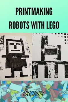 printmaking kreanimo artclass legoart prints bricks robots robot with lego Robot prints with Lego Kreanimo Printmaking with lego bricks Robots with legoYou can find Robots and more on our website Projects For Kids, Kids Crafts, Art Projects, Project Ideas, Summer Crafts, Robots For Kids, Art For Kids, Lego Robot, Robots Robots