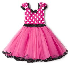 b3f8158d273f Baby Girls Costume. Minnie Mouse Dress UpMinnie Mouse CostumeFancy Dress  UpPink DressBaby Girl DressesDress ...