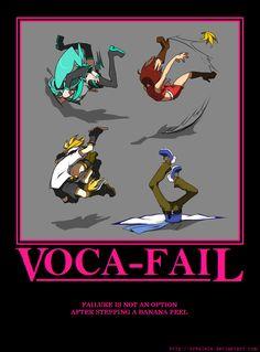 LEN, STOP DROPPING YOUR BANANA PEELS!    Voca-Fail by rrbalete.deviantart.com on @deviantART