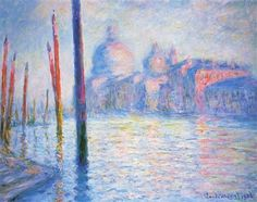 The Grand Canal 02 - Claude Monet