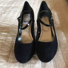 Style & Co Black Mary Jane Heels Size 8 Beautiful two tone heels! Style & Co Shoes Heels