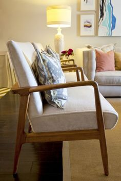 Love the chairs and I'm crazy over ikat printed fabrics.