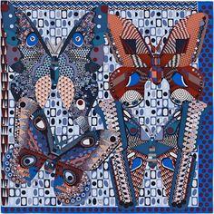 a8a9a45f6ddf 81 meilleures images du tableau carre soie   Hermes scarves, Silk ...