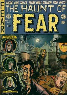 Cover for Haunt of Fear (1950 series) #12