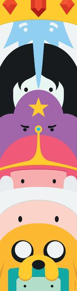 Adventure Time Totem Art Print by dudsbessa | Society6