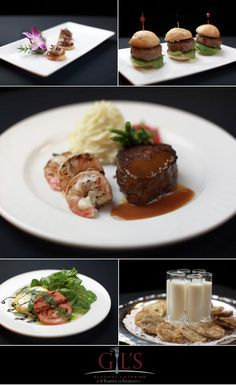 Delicious dishes from Gil's Elegant Catering!  #wedding #catering #Dallas