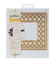 Spellbinders Nestabilities Labels 1 Card Front Card Creator Dies