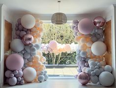 Gender Reveal Party Decorations, Balloon Decorations, Birthday Party Decorations, Party Themes, Party Ideas, Baby Shower Balloons, Birthday Balloons, Table Setting Inspiration, Balloon Arrangements