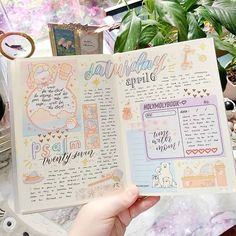 Front Page - Bible Journaling Ministries Bullet Journal Notes, Bullet Journal Aesthetic, Bullet Journal Writing, Bullet Journal School, Bullet Journal Ideas Pages, Bullet Journal Layout, Bullet Journal Inspiration, Art Journal Pages, Notes Design