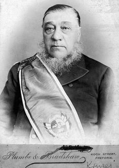Paul Kruger First South African President West Africa, South Africa, My Land, African History, Belle Epoque, Tweed, Presidents, The Past, Pretoria