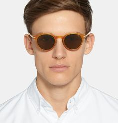 Eyevan 7285 - Round-Frame Acetate Polarised Sunglasses   MR PORTER Gregory  Peck, Atticus 532c20d0a0f2