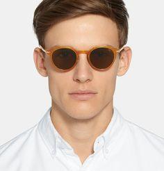 Eyevan 7285 - Round-Frame Acetate Polarised Sunglasses   MR PORTER Gregory  Peck, Atticus 532c20d0a0f2