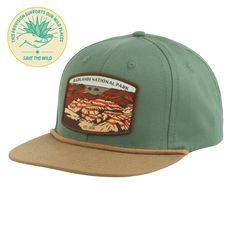 SPC133-1 Badlands National Park Hat (Front View)