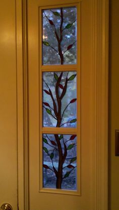 Hand Made Stained Glass Sidelight by Glass By Grammy | CustomMade.com