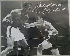 Jake LaMotta Raging Bull #Autographed 8x10 Photograph vs. Sugar Ray Robinson