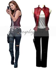 Resident Evil 3 afterlife Claire Cosplay Costume Price: $109.99 Naruto Cosplay Costumes, Cosplay Costumes For Sale, Buy Cosplay, Cosplay Ideas, 2017 Cosplay, Costume Ideas, Video Game Costumes, Comic Con Costumes, Boy Costumes