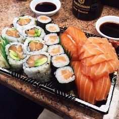 Sushi Sushi Recipes, Asian Recipes, Healthy Recipes, Cute Food, Good Food, Yummy Food, Tasty, Food Goals, Yummy Eats